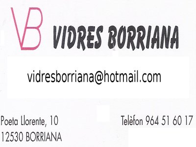 vidresborriana