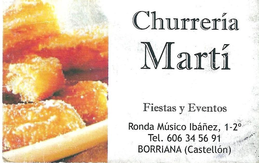 churreria marti