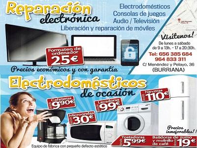 ELECTRODOMESTICOSDEOCASION